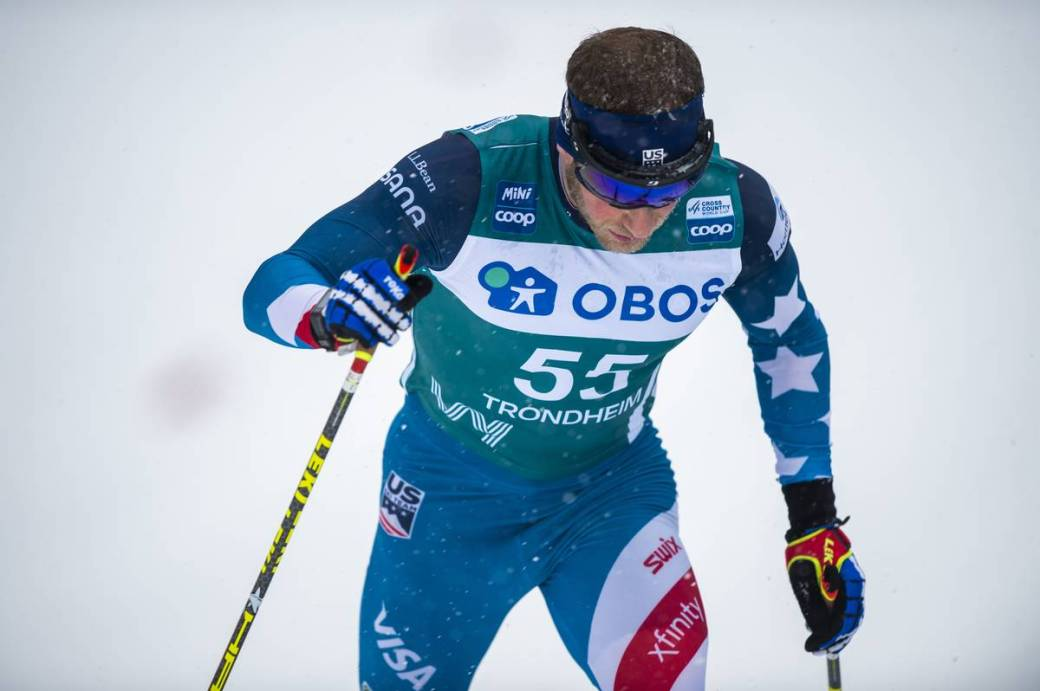 FIS world cup cross-country, pursuit men, Trondheim (NOR)