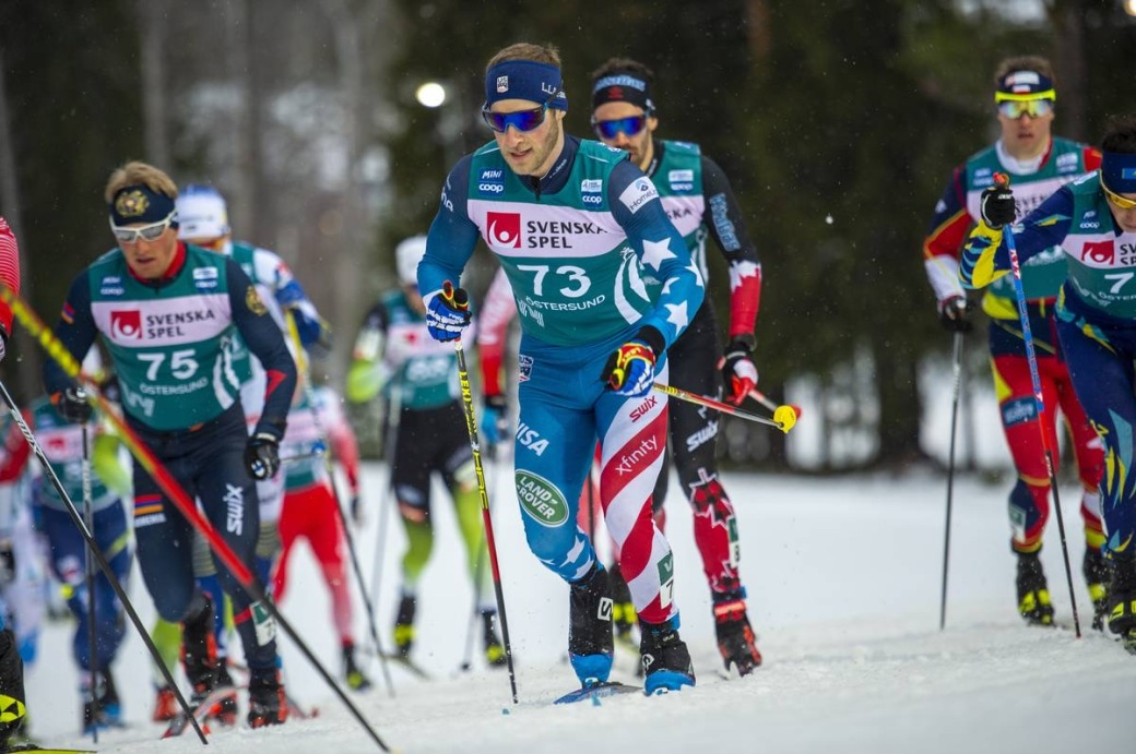 FIS world cup cross-country, pursuit men, Oestersund (SWE)